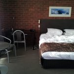 Large comfy rooms.  King size double room.
