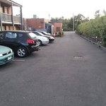 Main issue is the tight car park with no manoeuvring room behind spaces