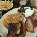 scrummy mixed grill!
