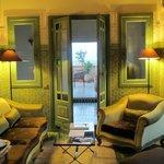 Palais Faraj in Fes, our suite with terrace
