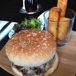 Realy nice burger.
