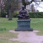 Denkmal von Mahatma Gandhi
