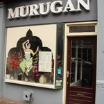 Front of Murugan restaurant