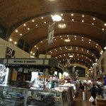 Inside the West Side Market