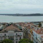 Vue sur le Tage et Lisbonne