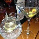 Delicious dirty Martini