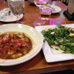 Wild Boar Gnocci and wilted salad