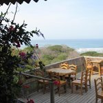Go for the view, stay for the food - On the deck at Brisas del Mar