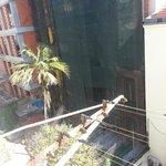 panorama sul cortile..