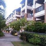 Garden resort-like surroundings
