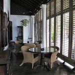 The wonderful bar/verandah. So Hemingway!