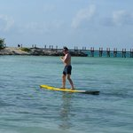 Paddle Boarding is available through lifeguards.  They are planning to have more activities soon