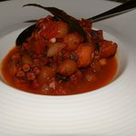 Stewed Octopus with pearl onions