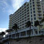 A nice hotel across the street