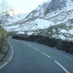 scenic drive to Snowdonia