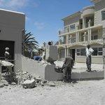 Baustelle im Atlantic Villas GH