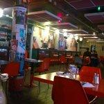 Strada Café interior