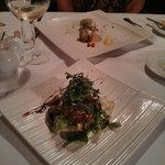 Thai fishcake and Scallops Starters