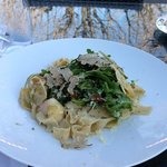 Pappardelle with black truffles!