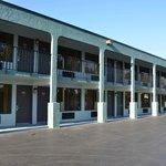 Buitenkant motel