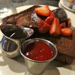 Chocolate French Toast at Zaftigs