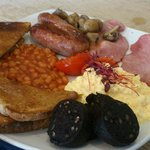 Super sized with Black pudding