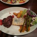 Prime steak & wedge salad