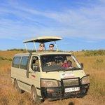 The safari car