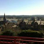 Balcony view over Cork