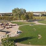 Park and Interstate bridge