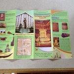 Brochure 1. Closed on Mondays & holidays