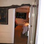 Original low doorway to the room I had - mind your head!