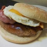 The best breakfast bap around!!