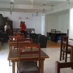 Dinning room looking towards lounge/reception