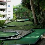 Mini golf sur le site