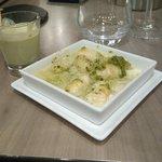 Gnocchis disp's basilic