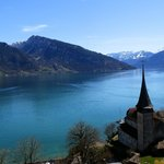 Spiez - Lake Thun - View from the top of the tower