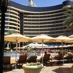 Pool on sister hotel