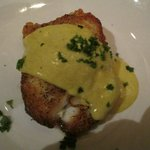 Sea Bass with lemon sauce
