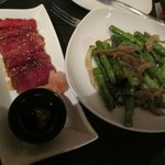 Ahi Tuna and Asparagus