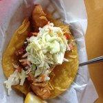 Crazy Fish Taco