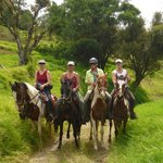 4 sisters riding in Los Tornos