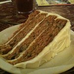 Sinful carrot cake!