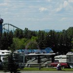 Calaway Park RV Park and Campground - amusement park view, Aug 2012