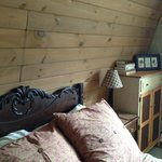 Raspberry Room (room 1 in the Barn)