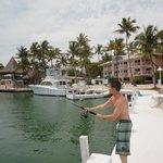 fishing at the resort