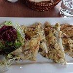 seafood fougasse
