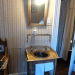 wash basin in the room