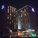 Hilton by night