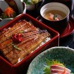 Nadaman - BBQ Eel Rice Set